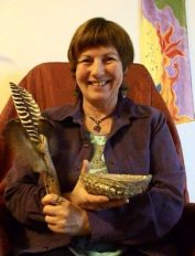 Michele Fire-River Heart, healing through ceremony, smudge fan, smudge bowl, smudge