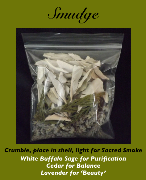smudge, smudge fans, smudge kits, michele fire-river heart, healing through ceremony