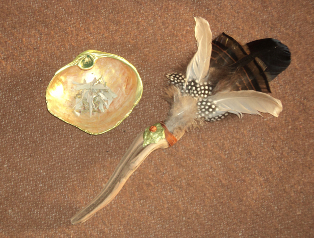 smudge kits, smudge fan, smudge bowl, smudge, shamanism, HEALINGthroughCEREMONY.com, Michele Fire-River Heart